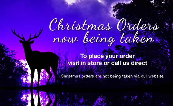 Ian Chatfield's Christmas Orders