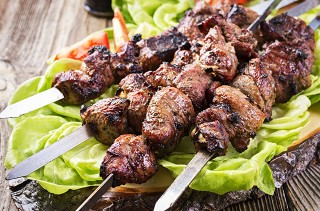 Lamb Kebabs (royal mint marinade)