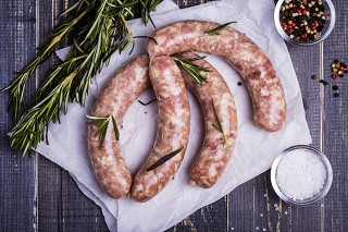 Cheese & Marmite Sausages