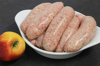 Pork, Leek & Apple Sausages