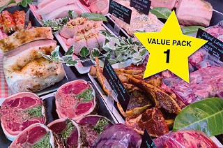 Value Meat Pack 1. Normally £121, now just £85!