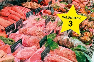 Value Meat Pack 3. Save £66!