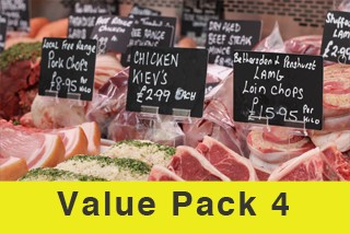 Value Meat Pack 4 (Normally £67! Now just £53.50!)