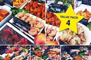 Value Meat Pack 4. Normally £80, now just £65!