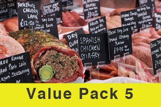 Value Meat Pack 5 Normally £191! Now just £130!