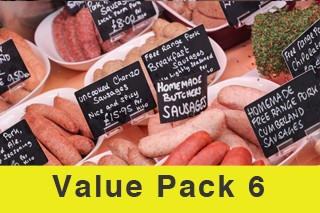 Value Meat Pack 6 (Normally £156! Now just £119.95!