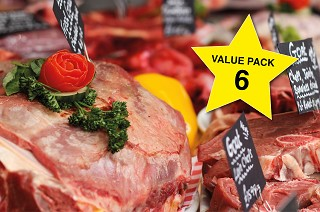 Value Meat Pack 6. Normally £166, now just £129.95!