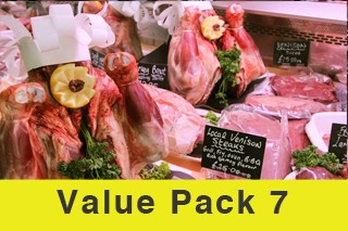 Value Meat Pack 7 Normally £139! Now just £107!