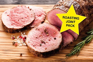 Roasting Joint Value Pack. Normally £128, now just £96!