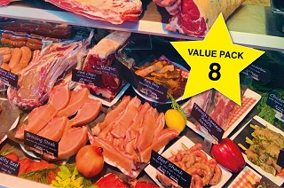 Value Meat Pack 8. Save £50!