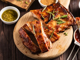 Pork Ribs (Jerk marinade)